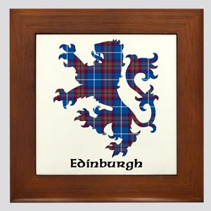 Lion - Edinburgh dist. Framed Tile