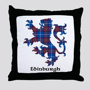 Lion - Edinburgh dist. Throw Pillow