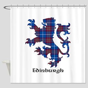 Lion - Edinburgh dist. Shower Curtain
