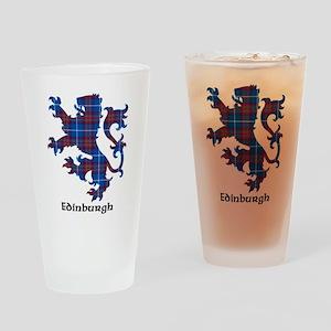 Lion - Edinburgh dist. Drinking Glass