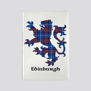 Lion - Edinburgh dist. Rectangle Magnet