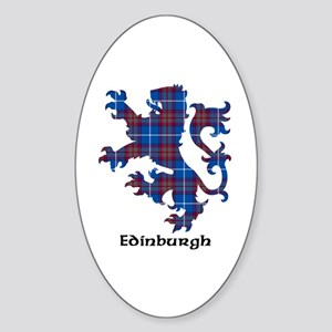 Lion - Edinburgh dist. Sticker (Oval)