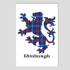 Lion - Edinburgh dist. Postcards (Package of 8)