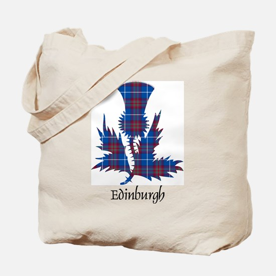 Thistle - Edinburgh dist. Tote Bag