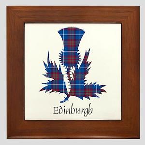 Thistle - Edinburgh dist. Framed Tile