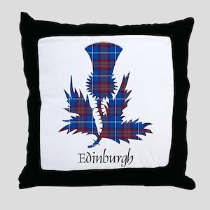 Thistle - Edinburgh dist. Throw Pillow