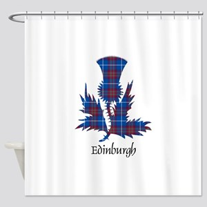 Thistle - Edinburgh dist. Shower Curtain