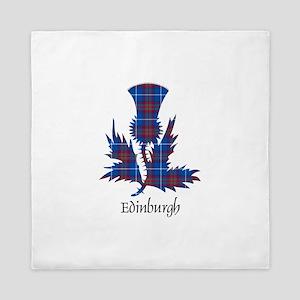 Thistle - Edinburgh dist. Queen Duvet