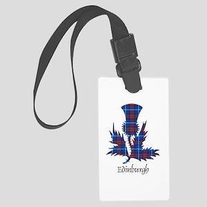 Thistle - Edinburgh dist. Large Luggage Tag