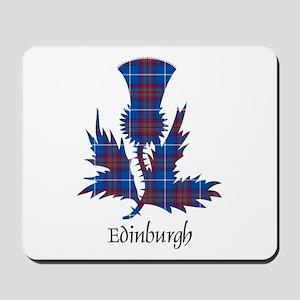 Thistle - Edinburgh dist. Mousepad