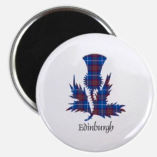 "Thistle - Edinburgh dist. 2.25"" Magnet (10 pack)"