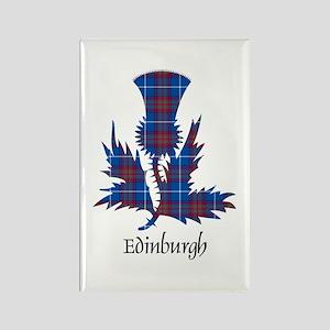 Thistle - Edinburgh dist. Rectangle Magnet