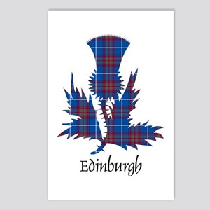 Thistle - Edinburgh dist. Postcards (Package of 8)