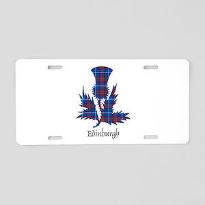 Thistle - Edinburgh dist. Aluminum License Plate