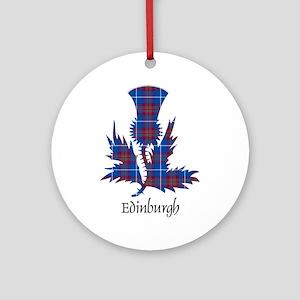 Thistle - Edinburgh dist. Ornament (Round)