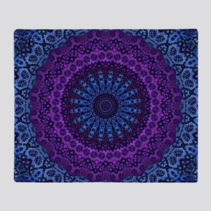Twilight Mandala Throw Blanket