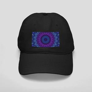 Twilight Mandala Black Cap