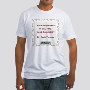 GREATNESS Fitted T-Shirt