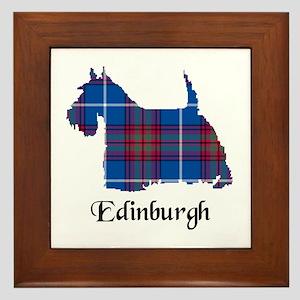 Terrier - Edinburgh dist. Framed Tile