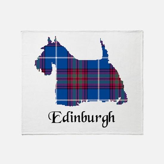 Terrier - Edinburgh dist. Throw Blanket