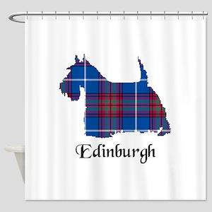 Terrier - Edinburgh dist. Shower Curtain