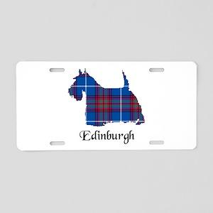 Terrier - Edinburgh dist. Aluminum License Plate