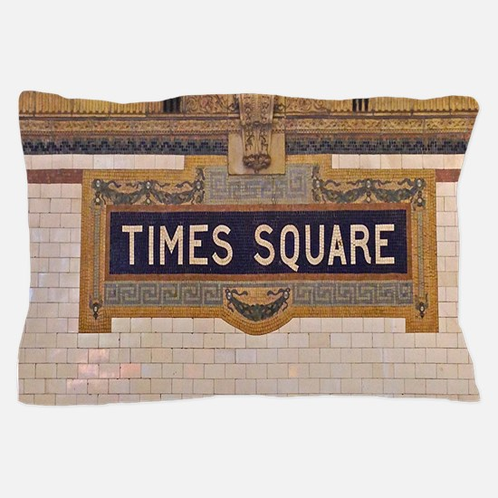 Times Square Subway Station Pillow Case
