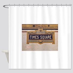Times Square Subway Station Shower Curtain