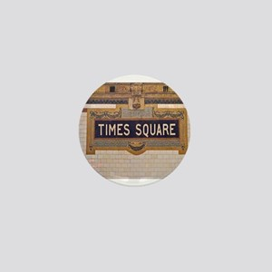 Times Square Subway Station Mini Button