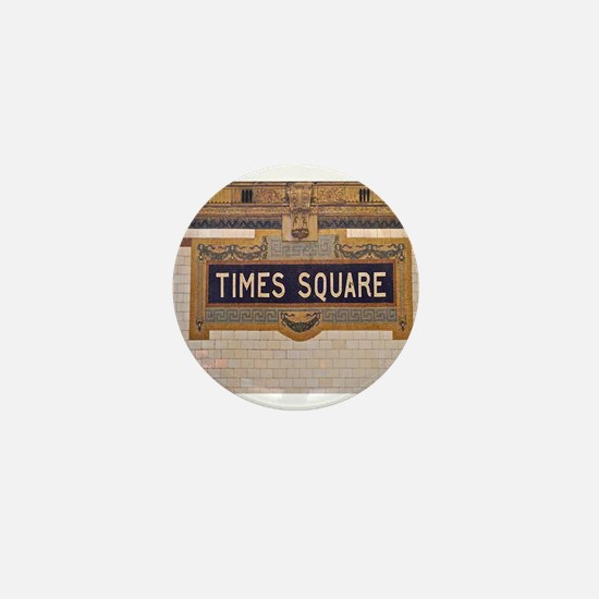 Times Square Subway Station Mini Button