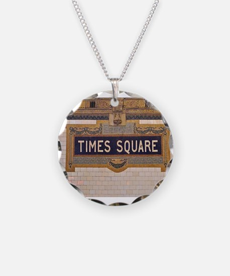 Times Square Subway Station Necklace