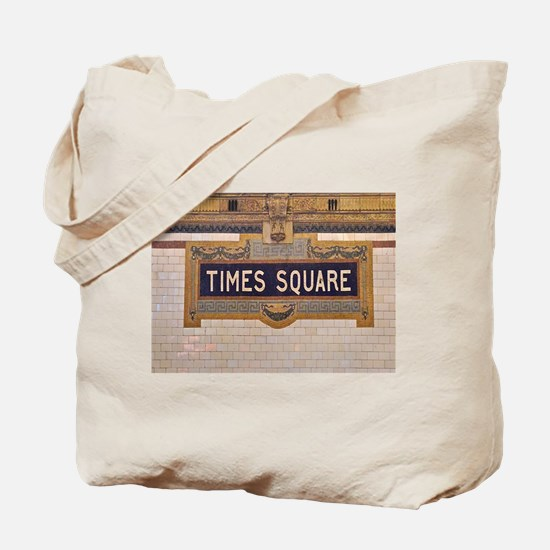 Times Square Subway Station Tote Bag