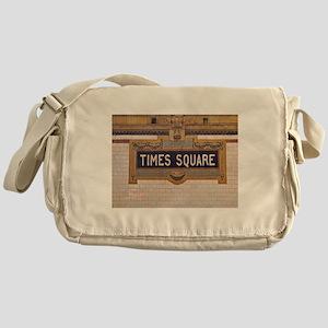 Times Square Subway Station Messenger Bag