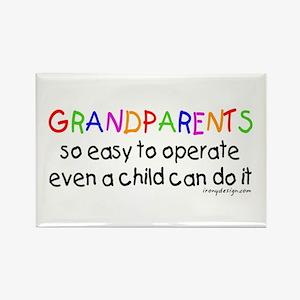 Grandparents Rectangle Magnet