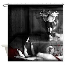 The Music Box Shower Curtain