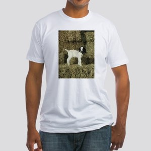Kid Playing In The Hay T-Shirt