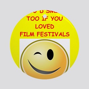 film festival Ornament (Round)