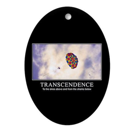 Transcendence Oval Ornament