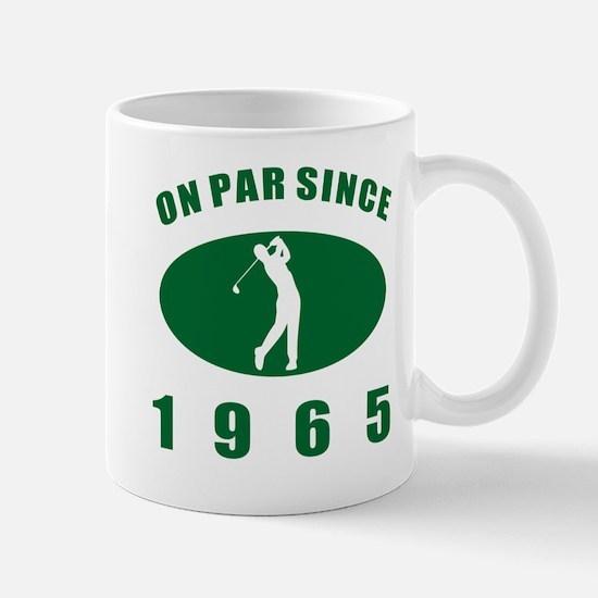 1965 Golfer's Birthday Mug
