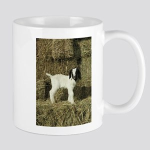 Kid Playing In The Hay Mugs