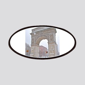 Greenwich Village: Washington Sq. Arch in Winter P