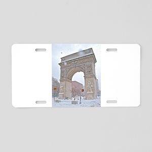 Greenwich Village: Washington Sq. Arch in Winter A