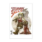 11x17 Steamin' Sally Mini Poster Print