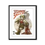 9x12 Steamin' Sally Framed Panel Print