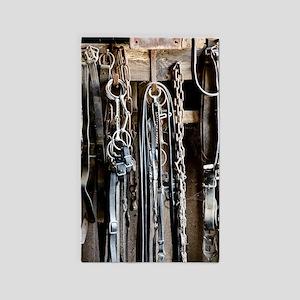 Horse Tack Area Rug