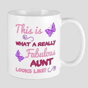 Fabulous Aunt Mugs