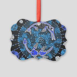 Jurassic Seas Picture Ornament