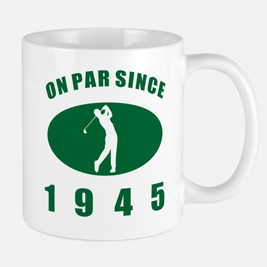 1945 Golfer's Birthday Mug
