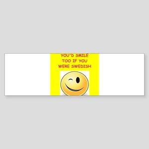 swedish Bumper Sticker