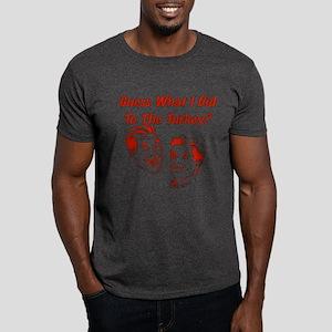 Thanksgiving Crude Humor Dark T-Shirt